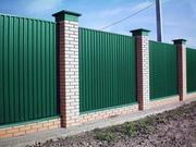 Забор из профнастила в Пензе,  делаем любые заборы