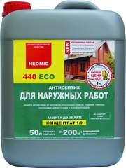 Неомид 440 есо-антисептик для защиты древесины снаружи и внутри помещ