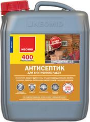 Неомид 400-антисептик для защиты древесины внутри помещений.