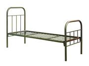 Раскладушки,  Кровати металлические для обстановки небольших помещений.