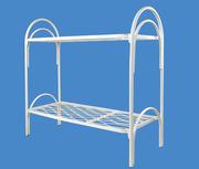Двухъярусные кровати металлические для детских оздоровительных лагерей