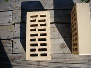 Бежевый керамический кирпич