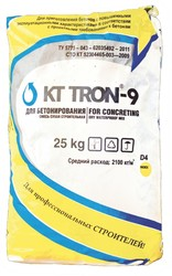 КТтрон–9 ЗР5, 0 безусадочная бетонная смесь наливного типа для высокото
