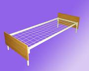 Кровати для больниц с изголовьями ЛДСП опт