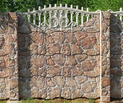 Формы для заборов и бетонных столбов.