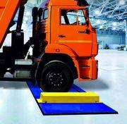 Автомобильные весы для поосного взвешивания ВТА-30-Д-1