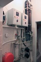 Электрический индукционный котел отопления