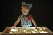 Детский светящийся планшет - Воображай песком